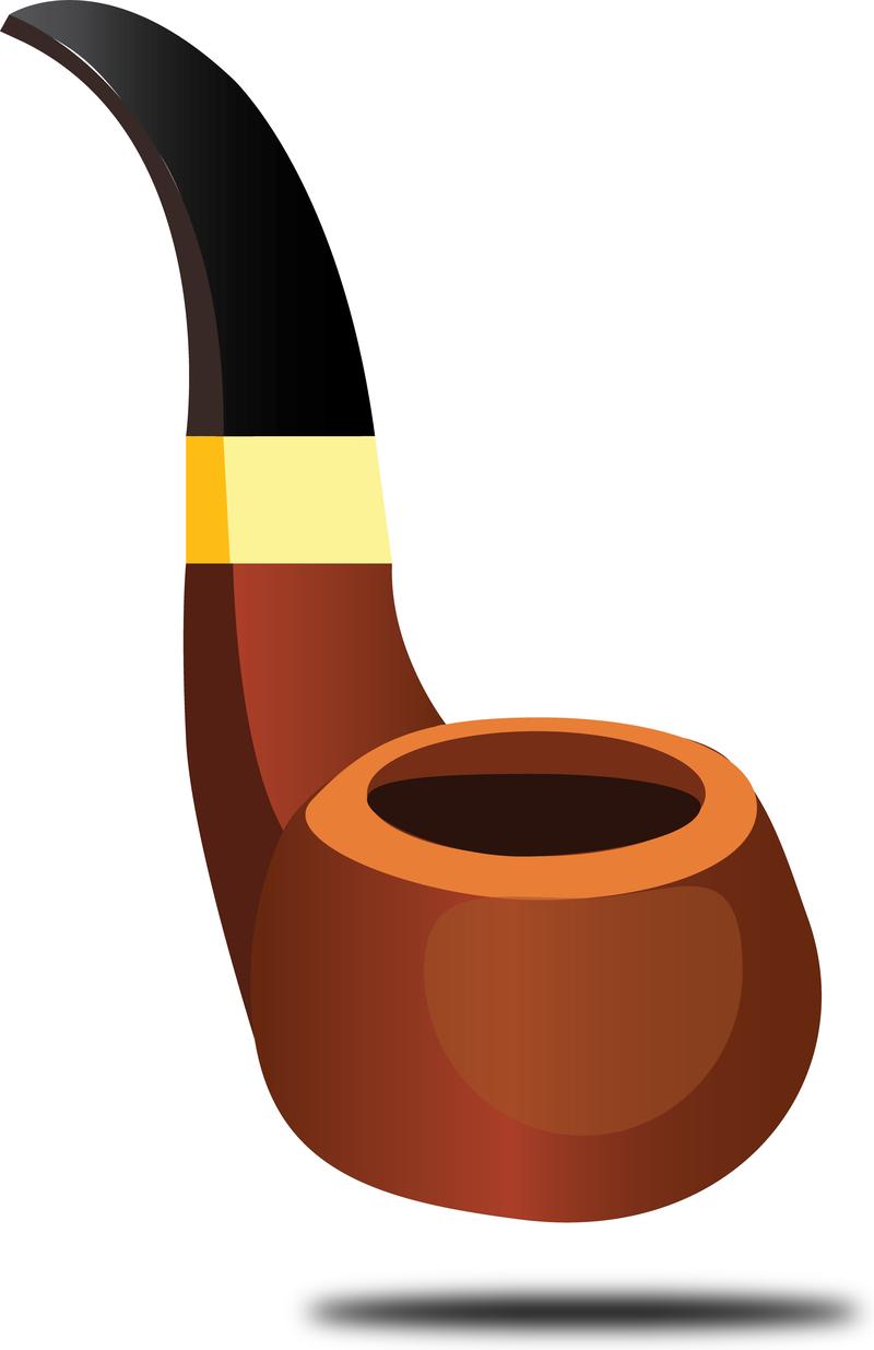 Vectoriales sin tabaco de pipa.