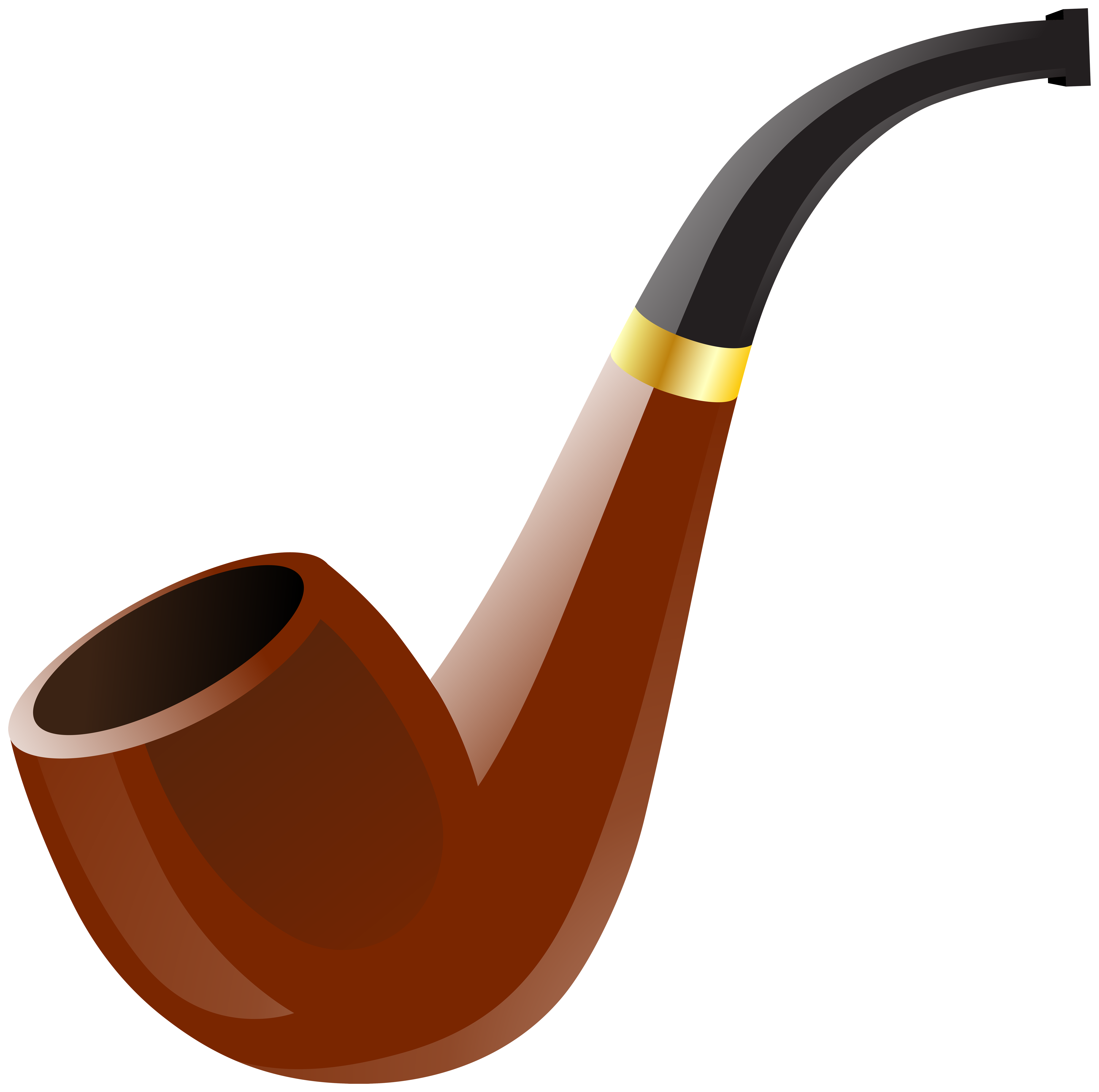 Smoking pipe clip art web clipart.