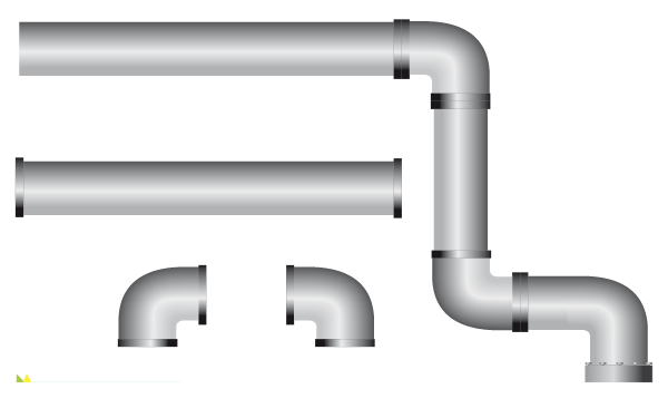 Water Pipe Clipart Book 3362.