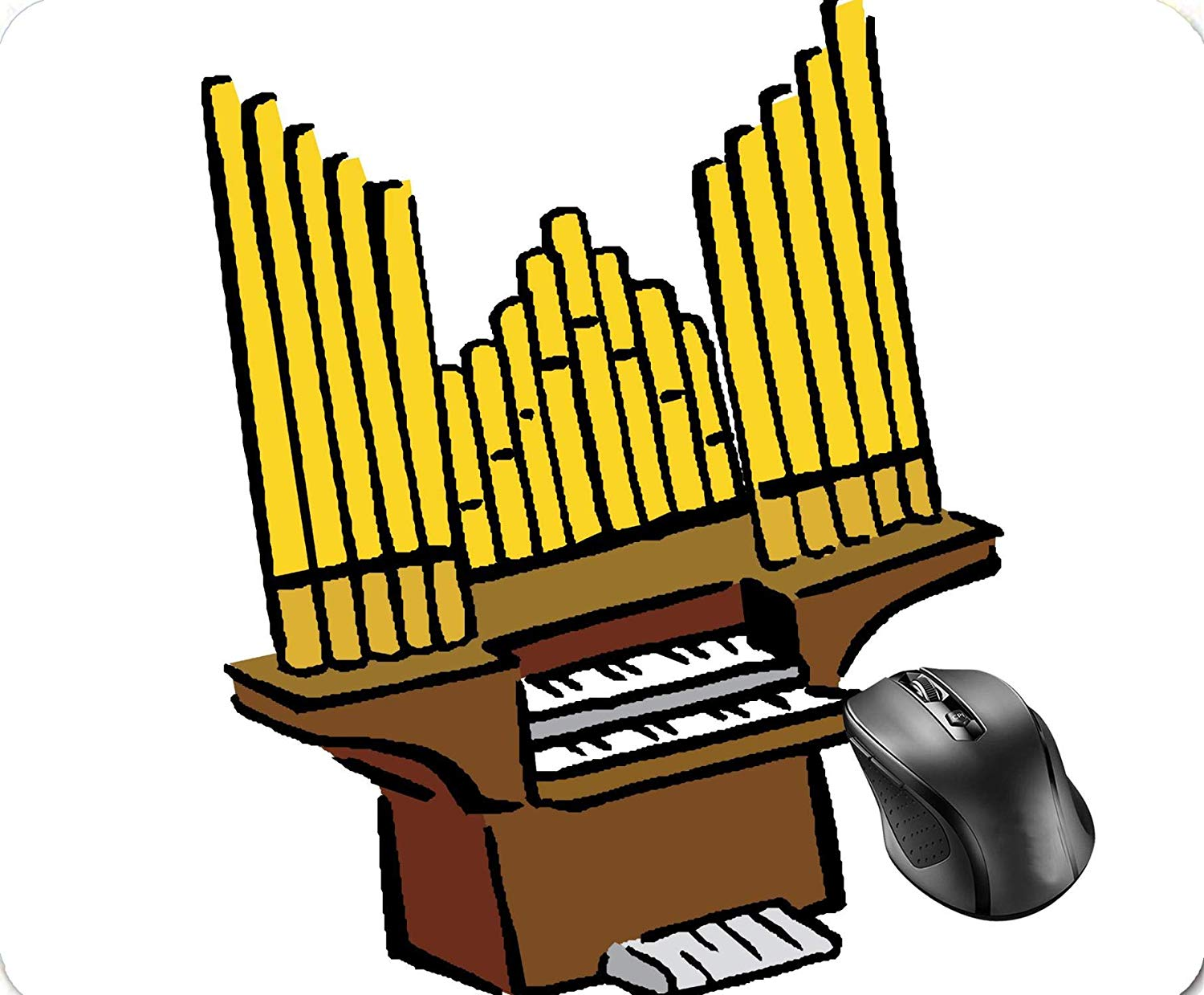 Amazon.com : SHAQ Pipe Organ Keyboard Wind Musical.