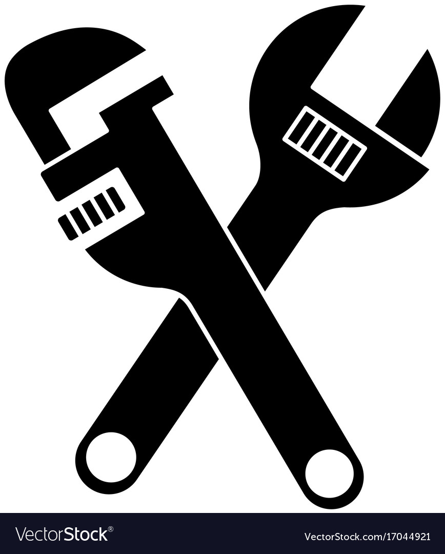 Pipe wrench icon.
