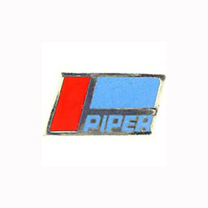 Details about Piper Logo Airplane Jet 1 in Collectible Lapel Pin.