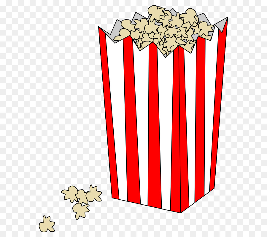Popcorn Cartoon clipart.