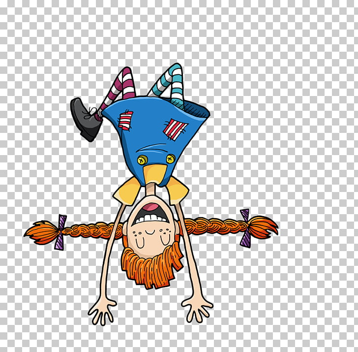 Character , pippi longstocking PNG clipart.