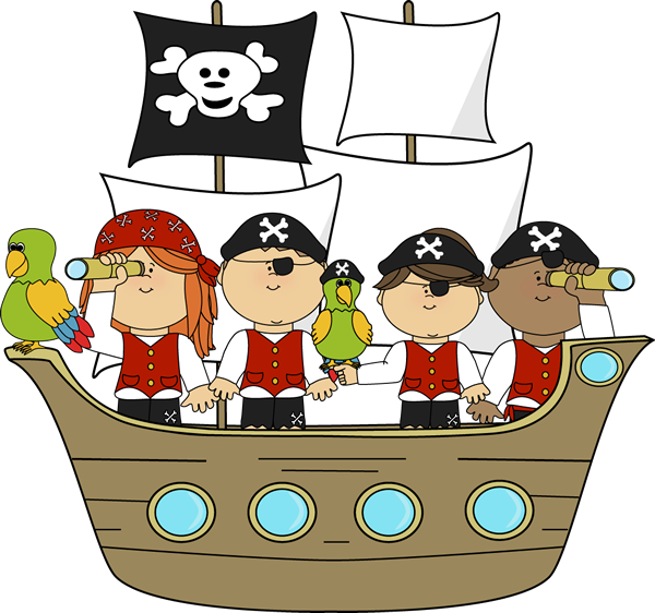 Free pirate clip art.