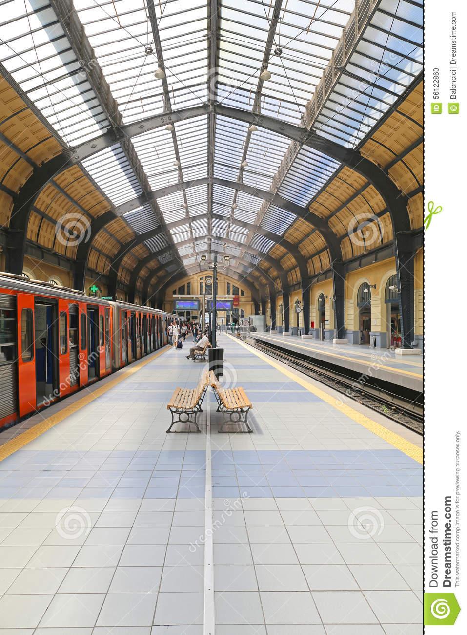 Piraeus Train Station Editorial Image.