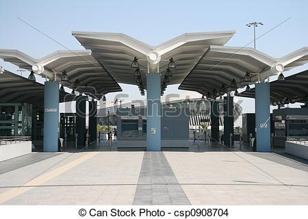 Stock Photo of train station.