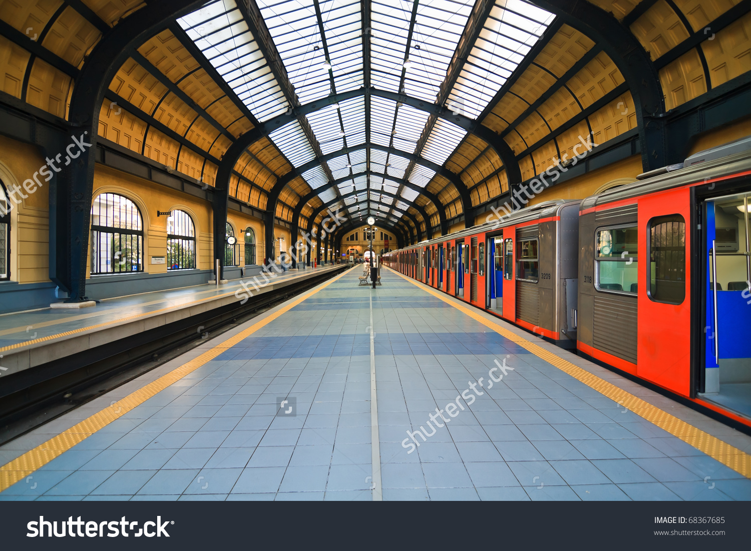 Athens Metro Station In Greece Stock Photo 68367685 : Shutterstock.