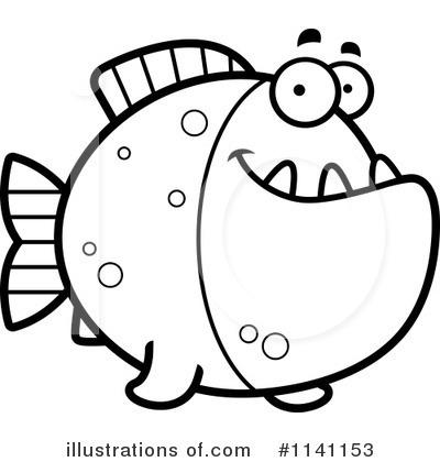 Piranha Clipart #1141153.