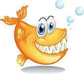 Piranha Clipart Illustrations. 477 piranha clip art vector EPS.