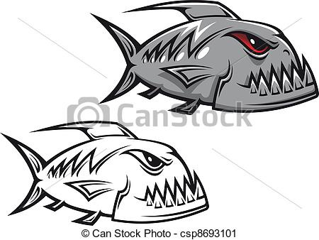 Piranha Stock Illustrations. 606 Piranha clip art images and.