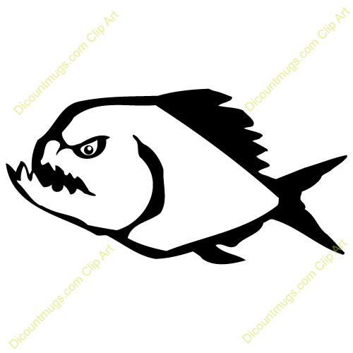 Piranha Clipart Pictures.