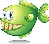 Piranha Clip Art.
