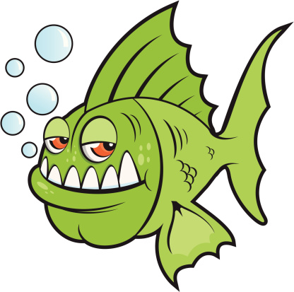 Piranha Cartoon.