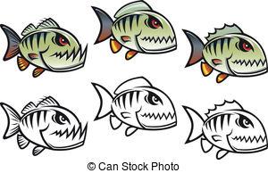 Piranha Stock Illustrations. 608 Piranha clip art images and.