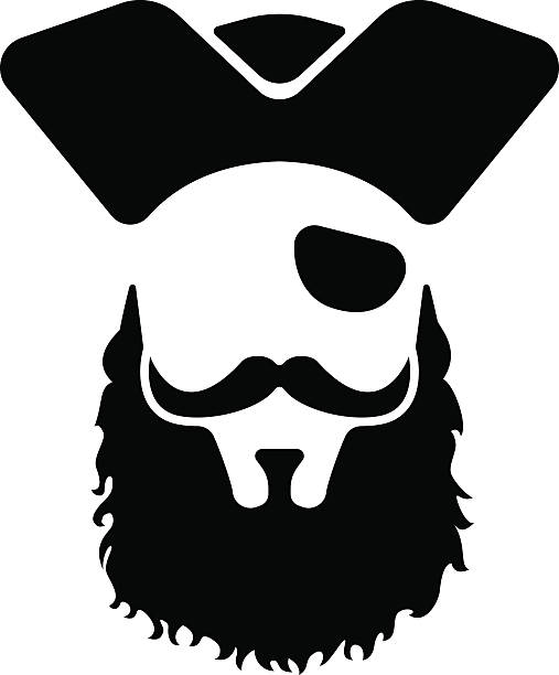 Collection of free Pirate vector beard. Download on Clipart 4Biz.