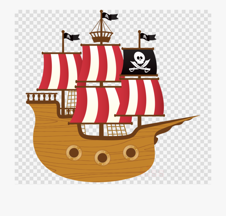 Boat Clipart Pirate.