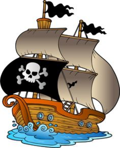 Clipart Pirate Ship.