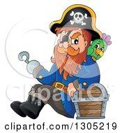 pirate captain clipart #5