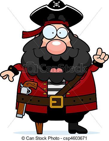 Vectors Illustration of Pirate Captain.