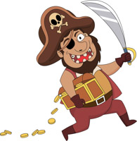 Free Pirates Clipart.