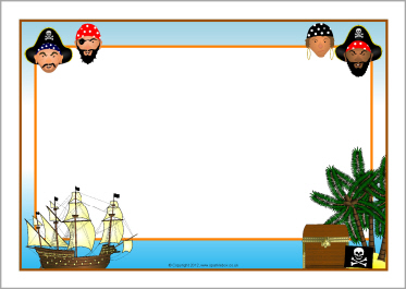 Pirate Border Clipart & Free Clip Art Images #21130.
