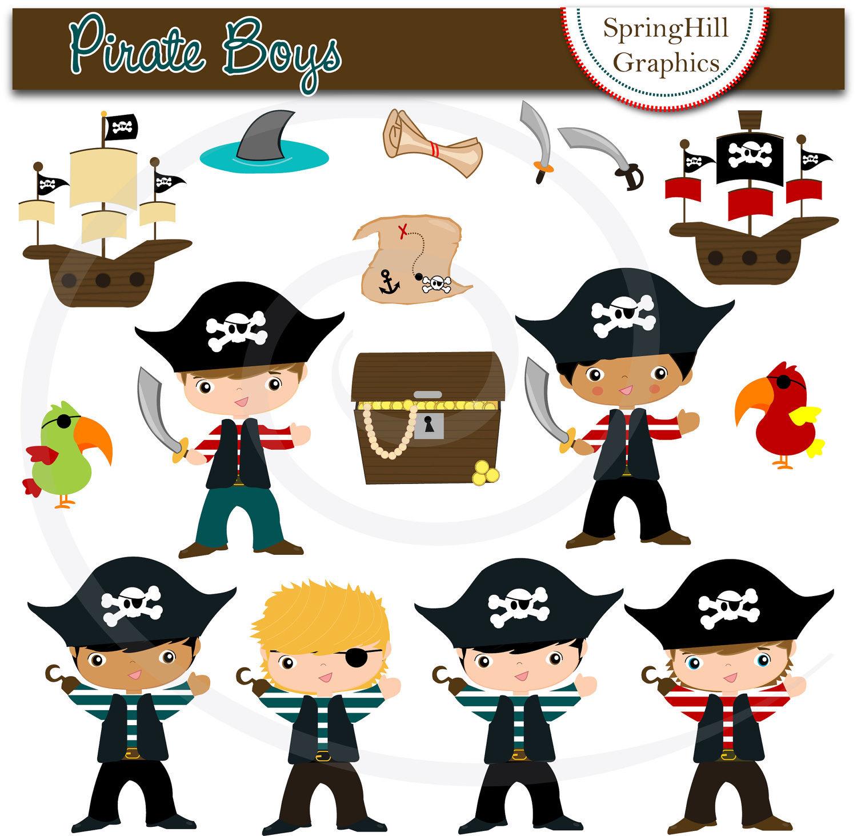 77+ Free Pirate Clip Art.
