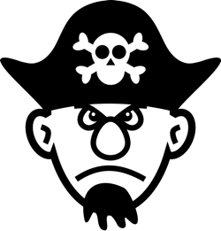 Pirate Clipart and Animations.