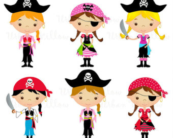 Cute Pirate Clipart.