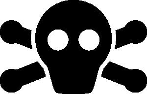 Pirate Symbol Clip Art at Clker.com.