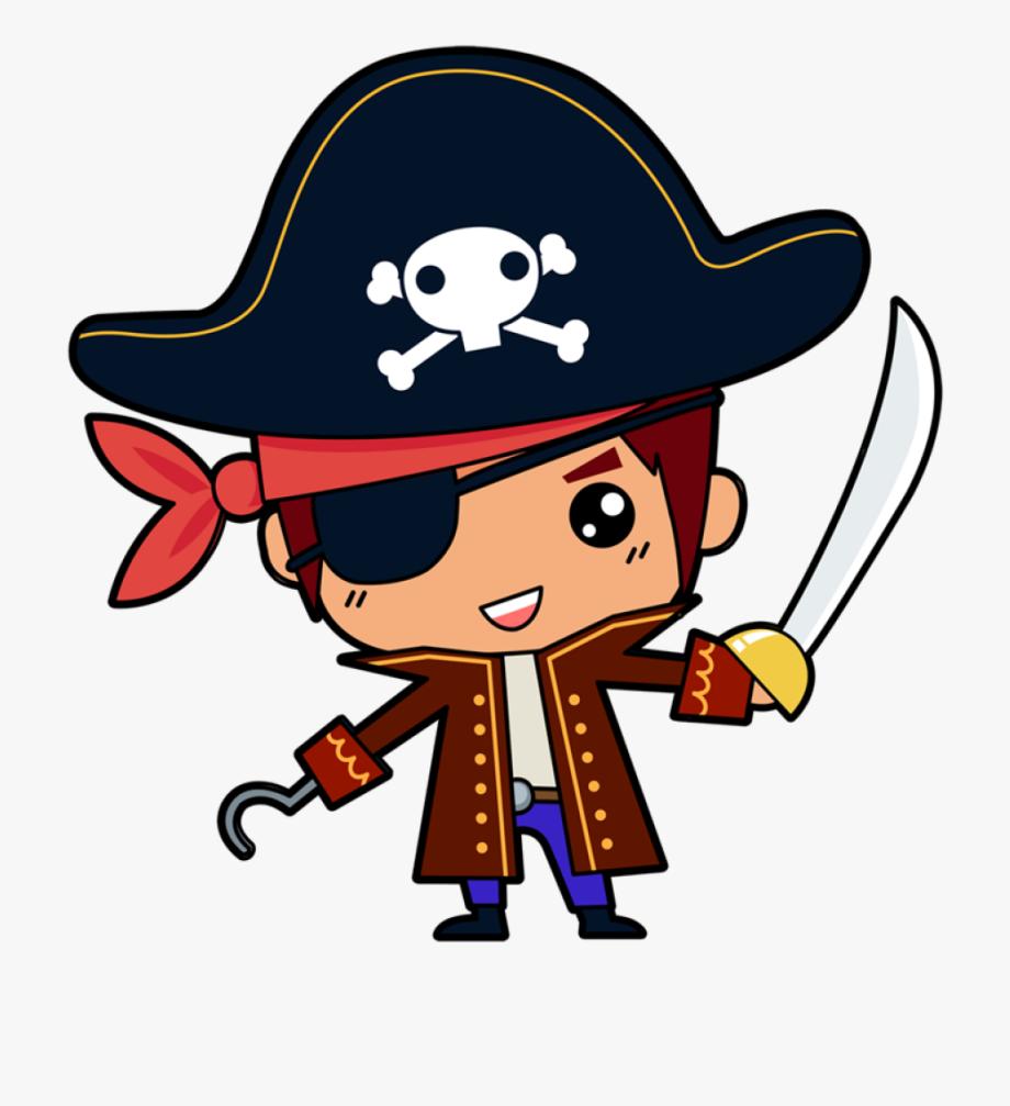 Free Cute Pirate Boy Clip Art.