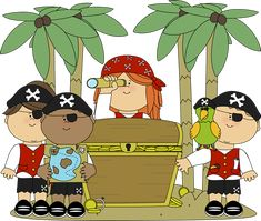7 Best Pirate Clip Art images.