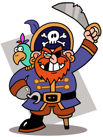67+ Free Pirate Clip Art.