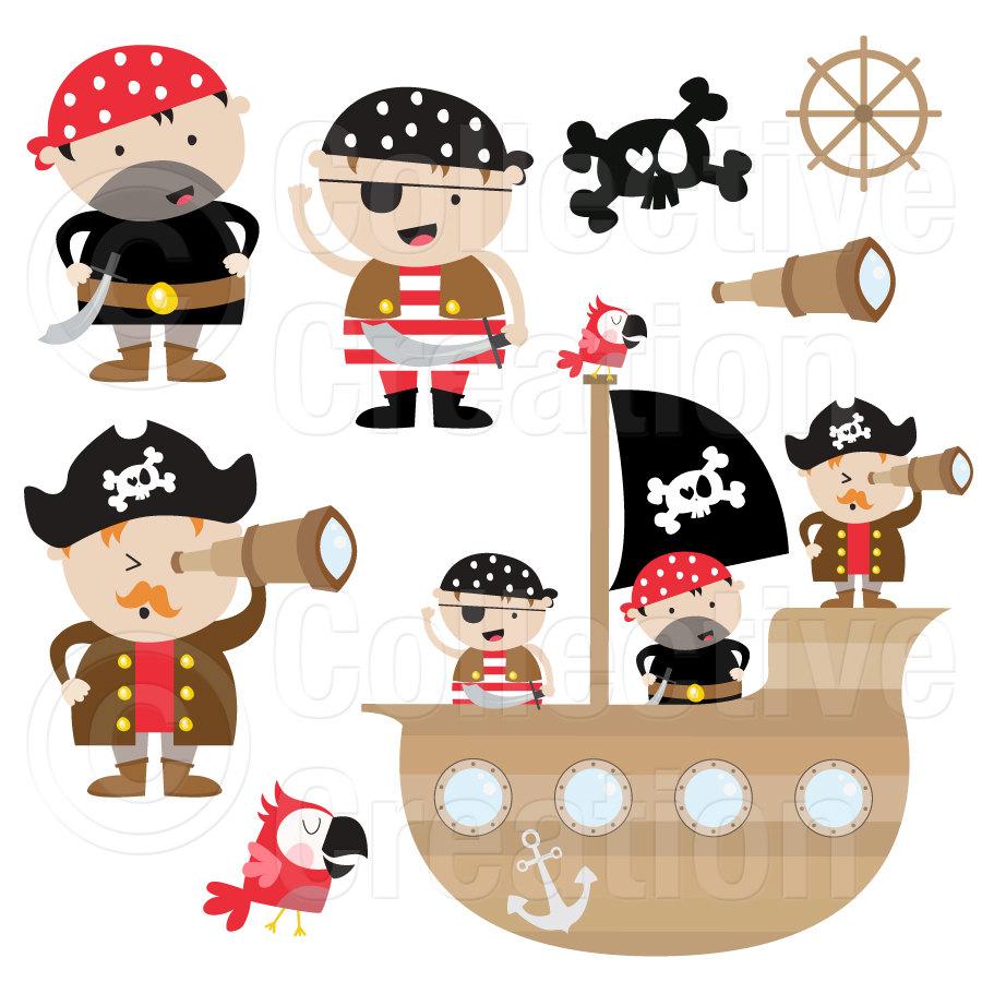 Pirates clipart item, Pirates item Transparent FREE for.