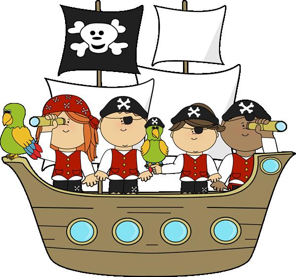 Pirates on Pirates on Pirate Ship.
