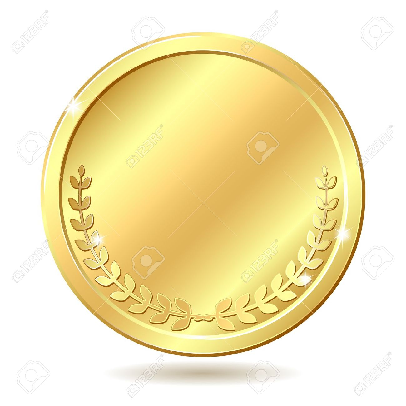 Gold Coin Clipart No Background.