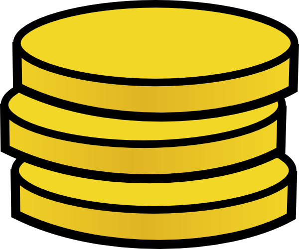 Pirate Coin Clipart.