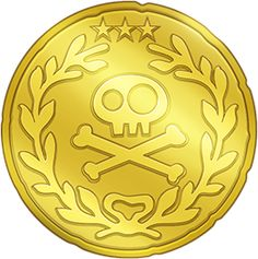 Pirate Coins Clipart.