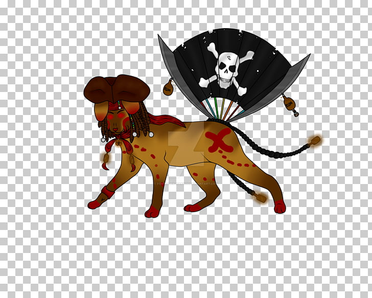 Dog Cat Mammal Canidae Character, pirate rum PNG clipart.