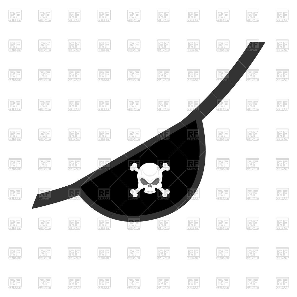 Pirate eye patch clipart 4 » Clipart Station.