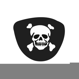 Pirate Eye Patch Clipart.