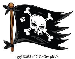 Pirate Flag Clip Art.