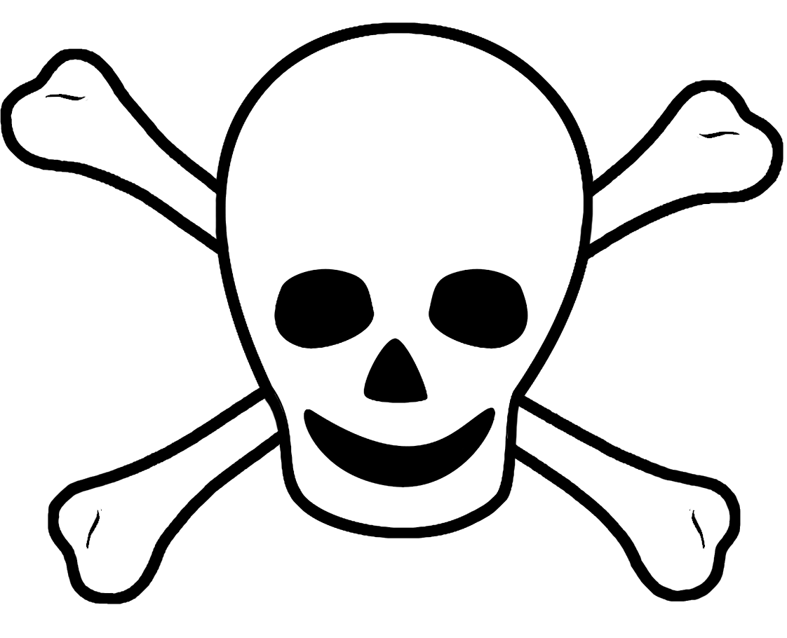 Free Pirate Flag Clipart Black And White, Download Free Clip.