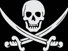 Pirate Flag Clipart.