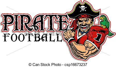 Pirate football Vector Clip Art EPS Images. 56 Pirate football.