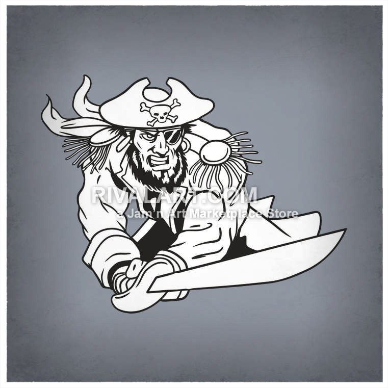 Pirate Clipart on Rivalart.com.