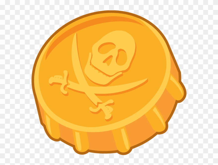 Coin Clipart Gold Doubloon.