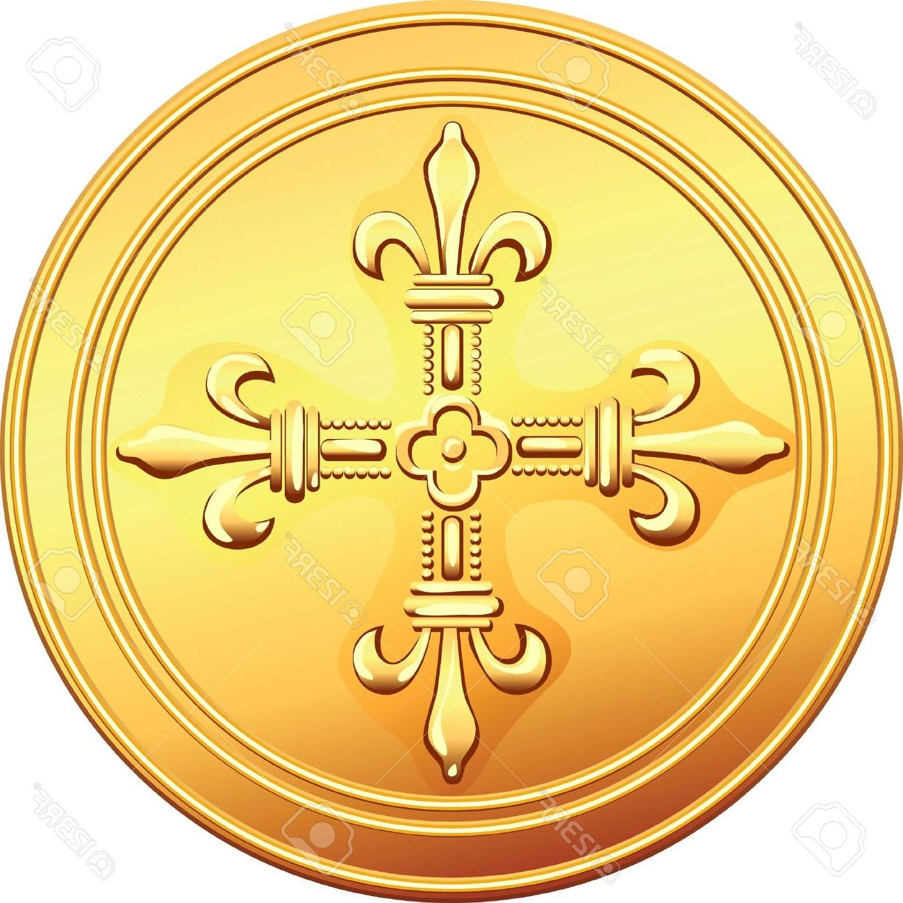 Top Pirate Gold Coins Vector Image » Free Vector Art, Images.