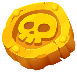 Pirates clipart gold coin, Pirates gold coin Transparent.