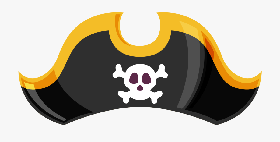 Awesome Pirate Hat Clip Art Png Image Free Download.